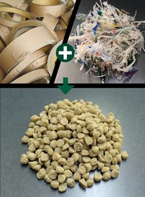最新の素材リサイクル技術で、画期的なハイブリッド樹脂[FPC]を実現